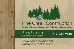 Business Card - Front